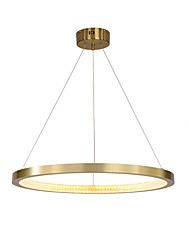 cheap -ZHISHU Circle / Sputnik / Crystal Chandelier Ambient Light Painted Finishes Metal Dimmable, New Design, WIFI Control 110-120V / 220-240V White / Dimmable With Remote Control / Wi-Fi Smart