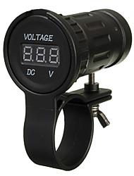 cheap -Motorcycle Voltmeters for Motorcycles All years Gauge Wearproof