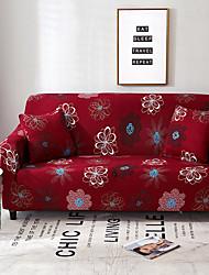 abordables -2019 nouvelle simplicité élégante impression housse de canapé stretch canapé housse super doux tissu rétro vente chaude housse de canapé
