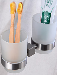 cheap -Toothbrush Holder Creative Fun & Whimsical Stainless steel 1pc - Bathroom / Hotel bath Wall Mounted