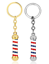 cheap -Keychain Flag American flag European Ring Jewelry Gold / Silver For Gift Festival