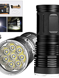 cheap -EX8 LED Flashlights / Torch Waterproof 6400 lm LED LED 8 Emitters Manual 3 Mode Waterproof Professional Anti-Shock Easy Carrying Durable Camping / Hiking / Caving Police / Military Cycling / Bike