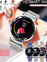 Недорогие -st02 умные часы женщины мода монитор сердечного ритма smartwatch леди фитнес браслет шагомер красивая удобная одежда