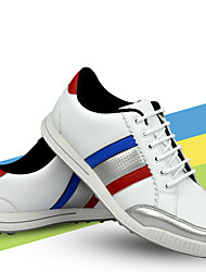 cheap -TTYGJ Men's Golf Shoes Waterproof Anti-Slip Comfortable Golf Autumn / Fall Spring White
