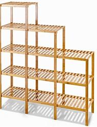 Недорогие -бамбук 5-уровневый универсальный стеллаж для хранения растений