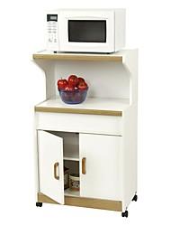 Недорогие -кухонная утварь микроволновая печь в белом&усилитель; средний дуб с меньшим хранением