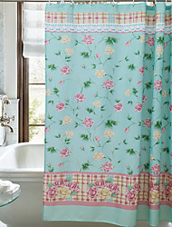 cheap -Shower Curtains Country Polyester Machine Made Waterproof Bathroom
