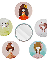 cheap -Cosmetic Mirrors Gift / New Design / Easy to Carry Makeup 3 pcs Iron Round Full Body / Eye / Legs Sweet / Fashion Christmas / Christmas Gifts / Wedding Daily Makeup / Halloween Makeup / Party Makeup
