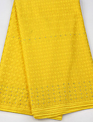 cheap -African lace Solid Pattern 130 cm width fabric for Special occasions sold by the 5Yard