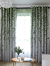 cheap -One Panel Children's Room Living Room Bedroom Dining Room Embroidered Curtain