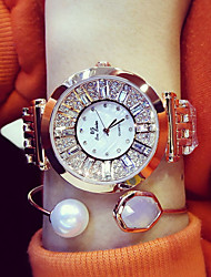 cheap -BS Ladies Steel Belt Watch Business Dress Watch Water Diamond Watch