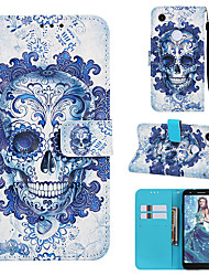cheap -Case For Google Google Pixel 3a / Google Pixel 3a XL Magnetic / with Stand / Shockproof Full Body Cases Skull Hard PU Leather for Google Pixel 3 / Google Pixel 3 XL / Google Pixel 3a XL