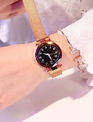 Недорогие -женские кварцевые магнитные часы мода классический сплав ремешок женские часы классный новый дизайн аналоговые наручные часы 1 шт