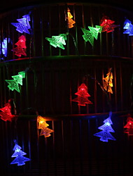 cheap -3m String Lights Christmas Trees 20 LEDs Multi Color Christmas Holiday Party Decorative 5 V 1 set