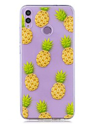 cheap -Case For Huawei Honor 8X / Huawei P Smart (2019) Pattern / Transparent Back Cover Pineapple Soft TPU for Mate20 Lite / Mate10 Lite / Y6 (2018) / P20 Lite / Nova 3i / P Smart / P20 Pro