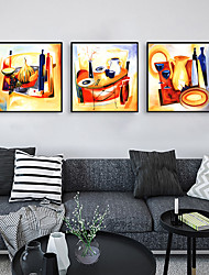 cheap -Framed Art Print Framed Set - Abstract Cartoon PS Poster Wall Art