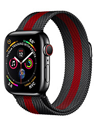 cheap -Watch Band for Apple Watch Series 4/3/2/1 Apple Milanese Loop Stainless Steel Wrist Strap