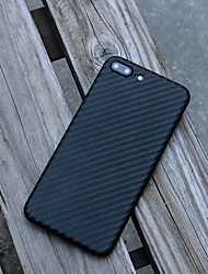 cheap -Case For Apple iPhone X / iPhone 8 Plus / iPhone 8 Shockproof Back Cover Solid Colored Hard Plastic