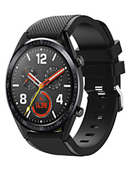cheap -Watch Band for Huawei Watch GT Huawei Watch 2 Classic Band 22mm Quick Release Silicone Replacement Strap for Gear S3 Pebble Time Moto 360 LG G Watch Ticwatch Pro Asus Vivowatch Zenwatch 2