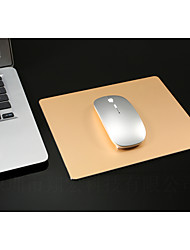 cheap -aluminum alloy mouse pad with non-slip rubber bottom gaming mouse mat