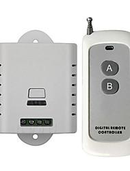 cheap -Smart Switch DL220-V1.0+AK-1000-2F for Living Room / Study / Daily LED Light / Creative / Easy to Install Wireless Remote 110-150 V / 220 V / 100-240 V