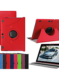 cheap -Case For Lenovo Lenovo Tab-X103F Shockproof / with Stand / Ultra-thin Full Body Cases Solid Colored Hard PU Leather