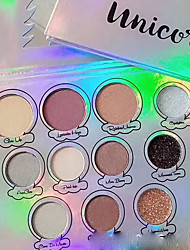 cheap -11 Colors Eyeshadow Eyeshadow Palette Matte Shimmer Cosmetic General use EyeShadow Easy to Carry Women lasting Long Lasting Girlfriend Gift Casual / Daily Daily Makeup Party Makeup Cosmetic Gift