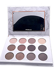 cheap -12 Colors Eyeshadow Eyeshadow Palette EyeShadow Easy Carrying lasting Daily Makeup Party Makeup Cosmetic Gift