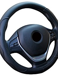 cheap -Universal Car Leather Steering-wheel Cover Anti-slip for 38CM/15 Steering Wheel