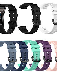 cheap -1 Pcs Watch Band For Huawei 3 Band 3 Pro New Replacement Band Silicone Bracelet Wristband Strap