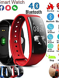 cheap -QS90 Plus IP67 Waterproof Smart Wristbands Blood Pressure Heart Rate Monitor Bluetooth 4.2 Sport Smart Bracelet for Android iOS