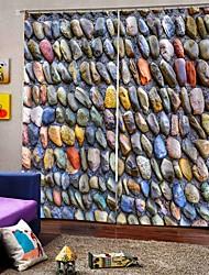 Недорогие -Горячие продажи красивые шторы сильные быстрые утолщенные плотные водонепроницаемые полиэфирные занавески для ванной спальня / гостиная тепло / звукоизоляция плотные шторы