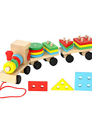 cheap -Building Blocks Shape Sorter Toy Hand-made Kid's Child's All 1 pcs