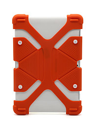 cheap -Case For Apple / Samsung Galaxy / Huawei Universal Shockproof Bumper Solid Colored Silica Gel 7-8 Inch
