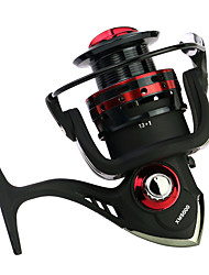 cheap -Fishing Reel Spinning Reel 5.2:1 Gear Ratio+14 Ball Bearings Hand Orientation Exchangable Spinning / Carp Fishing