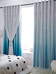 cheap -Privacy Two Panels Curtain & Sheer Bedroom   Curtains