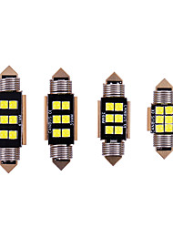 cheap -10PCS car c5w led 31 36 39 41mm interior Light 3030 Chips LED Festoon Bulb Car Dome Canbus No Error Auto Interior Reading Lamp