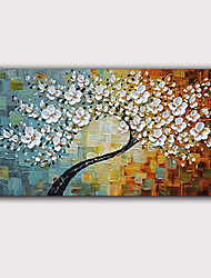 cheap -Oil Painting Hand Painted - Abstract Famous Classic Modern Rolled Canvas