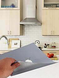 Недорогие -Yiwu ho1070192l7l серебро газовая плита защиты поверхности очистки коврик 4 шт.