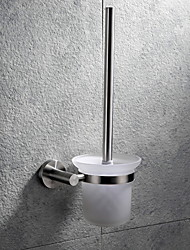 cheap -Toilet Brush Holder Creative Contemporary Stainless Steel 1pc - Bathroom Wall Mounted