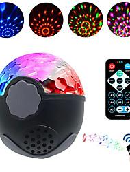 Недорогие -Brelong светодиодный диско сценический свет DJ диско шар свет звук активировать лазерный проектор эффект свет музыка рождественская вечеринка треугольник