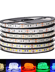 cheap -2 Pack LED Light Strips RGB Tiktok Lights DC 12V 5050 SMD 60LEDsM Black PCB Board Flexible LED Light Waterproof 5050 LED Tape For TV Background Decoration