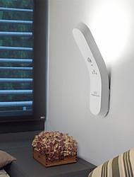cheap -2pcs 1 W USB Charging  6 LED Beads Infrared Sensor LED Cabinet Lights White Warm White 5 V Home / Office Children's Room Kitchen Emergency flashlight