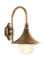 cheap -Outdoor Waterproof Wall Sconce Lighting Aluminum Glass Wall Lamp for Courtyard Garden Villa Lighting