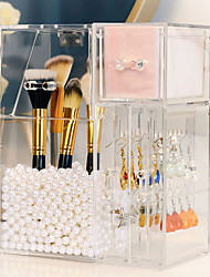 cheap -Storage Organization Cosmetic Makeup Organizer Acrylic Irregular shape Novelty