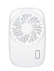Недорогие -1 шт. Портативный ручной открытый простой вентилятор творческий USB зарядка трехступенчатый настольный офис маленький вентилятор