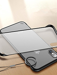 cheap -Case For Apple iPhone XS / iPhone XR / iPhone XS Max Shockproof / Ring Holder / Ultra-thin Back Cover Transparent Hard Acrylic / PC