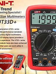 Недорогие -uni-t ut33d + цифровой мультиметр ручной цифровой дисплей высокой точности для офиса и обучения
