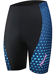 cheap -21Grams Women's Cycling Padded Shorts Polyester Bike Pants Bottoms Breathable Quick Dry Sports Black / Blue Mountain Bike MTB Road Bike Cycling Clothing Apparel Bike Wear / Stretchy
