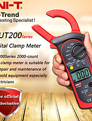 cheap -UNI-T UT200B LCD Electrical Professional Backlight 600A AC/DC Voltage AC Current Resistance Digital Clamp Meters